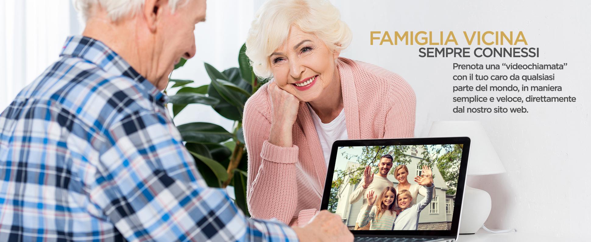 Famiglia vicina- Video Call con i tuoi cari
